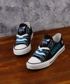 Charlotte Hornets Limited Low Top Canvas Sneakers