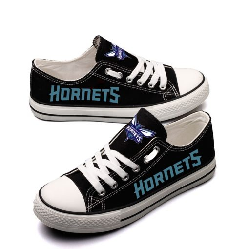 Charlotte Hornets Limited Low Top Canvas Shoes Sport