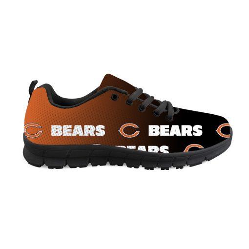 Chicago Bears Custom 3D Print Running Sneakers