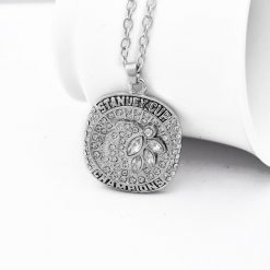 Chicago Blackhawks 2015 Stanley Cup Championship Necklace