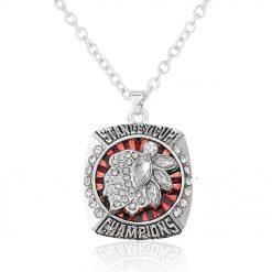 Chicago Blackhawks Jonathan Toews Stanley Cup Championship Necklace