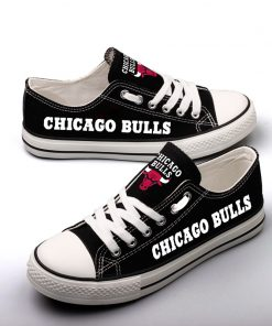 Chicago Bulls Limited Low Top Canvas Sneakers