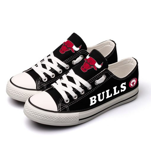 Chicago Bulls Limited Low Top Canvas Shoes Sport