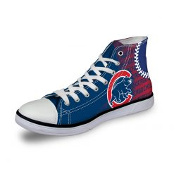 Chicago Cubs 3D Casual Canvas Shoes Sport
