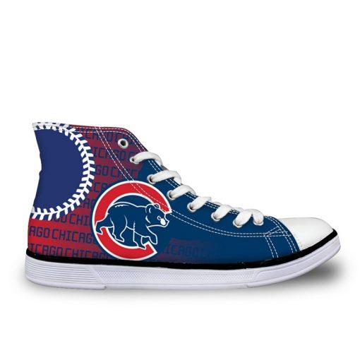Chicago Cubs 3D Casual Canvas Shoes Sport