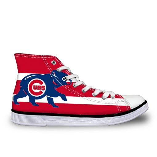 Chicago Cubs 3D Casual Lace-Up Sneakers