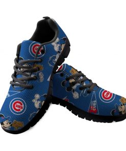 Chicago Cubs Custom 3D Running Sneakers