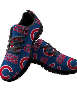 Chicago Cubs Custom 3D Running Shoes