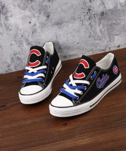Chicago Cubs Limited Low Top Canvas Shoes Sport