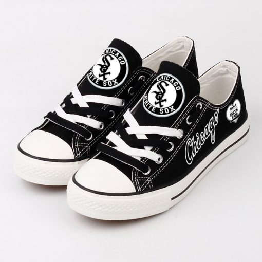 Chicago White Sox Limited Low Top Canvas Sneakers