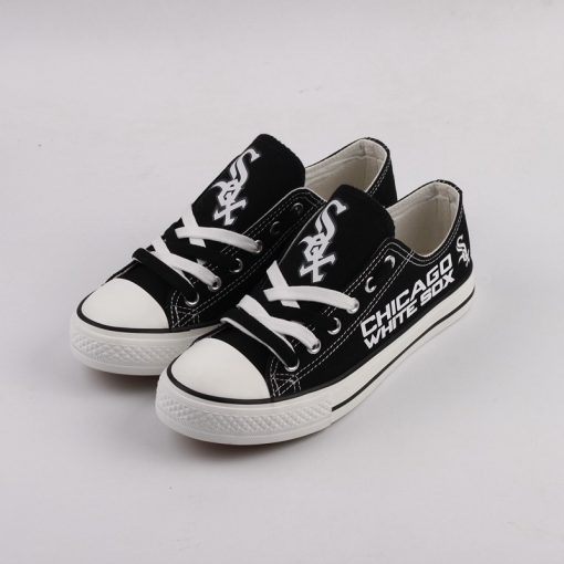Chicago White Sox Limited Print Low Top Canvas Sneakers