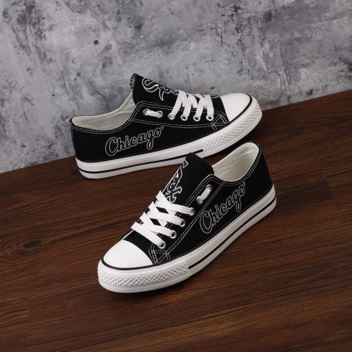 Chicago White Sox Limited Low Top Canvas Shoes Sport