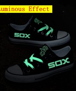 Chicago White Sox Limited Luminous Low Top Canvas Sneakers