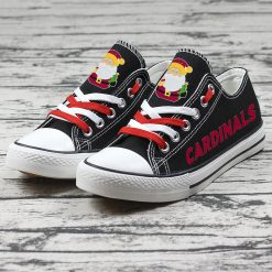 Arizona Cardinals Christmas Limited Low Top Canvas Sneakers