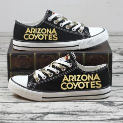 Christmas Arizona Coyotes Limited Low Top Canvas Sneakers