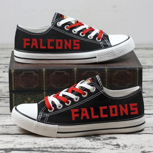 Christmas Atlanta Falcons Limited Low Top Canvas Sneakers