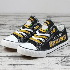 Christmas Boston Bruins Limited Low Top Canvas Sneakers