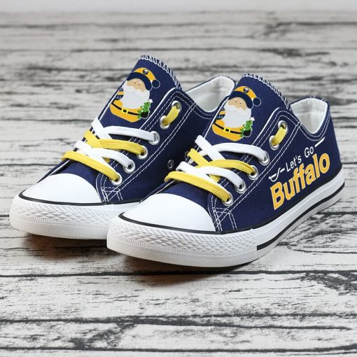 Christmas Buffalo Sabres Limited Low Top Canvas Sneakers