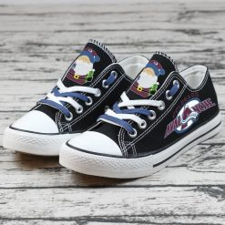 Christmas Colorado Avalanche Limited Low Top Canvas Sneakers