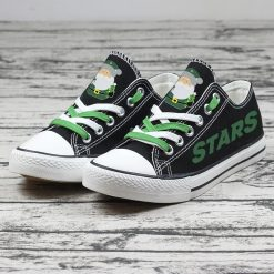 Christmas Dallas Stars Limited Low Top Canvas Sneakers