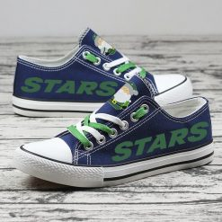 Christmas Dallas Stars Limited Print Low Top Canvas Shoes Sport