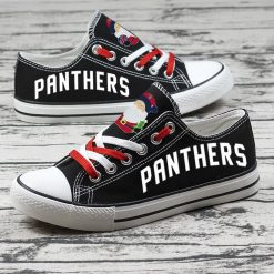 Christmas Florida Panthers Limited Low Top Canvas Sneakers