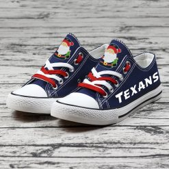Christmas Houston Texans Limited Low Top Canvas Shoes Sport