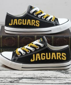 Christmas Jacksonville Jaguars Limited Low Top Canvas Sneakers