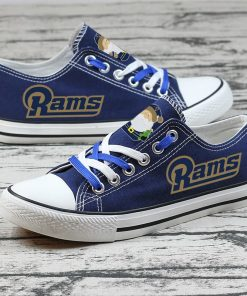 Christmas Los Angeles Rams Limited Low Top Canvas Shoes Sport
