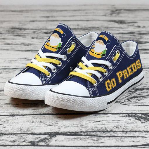 Christmas Nashville Predators Limited Low Top Canvas Sneakers