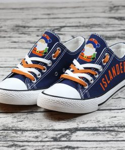 Christmas New York Islanders Limited Low Top Canvas Shoes Sport