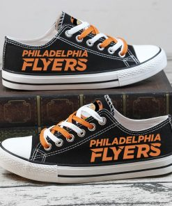 Christmas Philadelphia Flyers Limited Low Top Canvas Sneakers