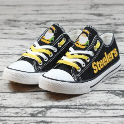 Christmas Pittsburgh Steelers Limited Low Top Canvas Sneakers