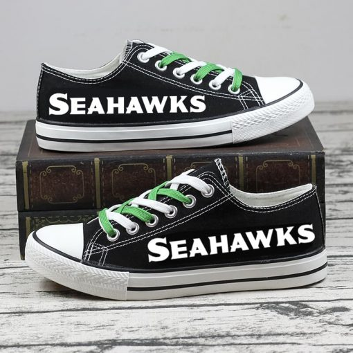Christmas Seattle Seahawks Limited Low Top Canvas Shoes Sport