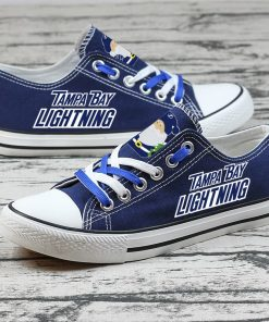 Christmas Tampa Bay Lightning Limited Low Top Canvas Sneakers