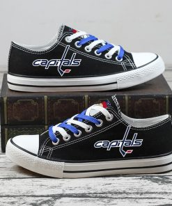 Christmas Washington Capitals Limited Fans Low Top Canvas Sneakers