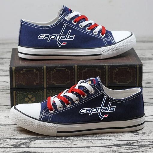 Christmas Washington Capitals Limited Low Top Canvas Shoes Sport