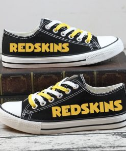 Christmas Washington Redskins Limited Low Top Canvas Sneakers
