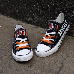 Cincinnati Bengals Limited Low Top Canvas Shoes Sport