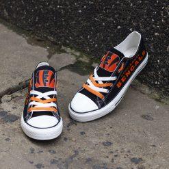 Cincinnati Bengals Limited Fans Low Top Canvas Sneakers