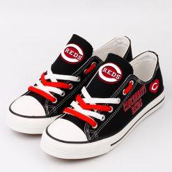 Cincinnati Reds Limited Low Top Canvas Shoes Sport
