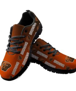Cleveland Browns Limited Custom 3D Print Running Sneakers