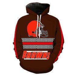 Cleveland Browns Football Fans Hoodies