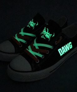 Cleveland Browns Limited Luminous Low Top Canvas Sneakers