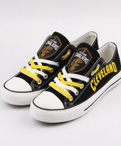 Cleveland Cavaliers Low Top Canvas Sneakers