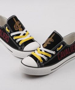 Cleveland Cavaliers Limited Low Top Canvas Sneakers