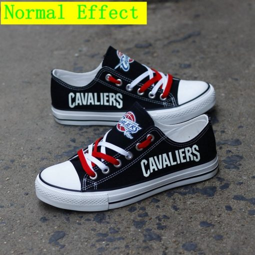 Cleveland Cavaliers Limited Luminous Low Top Canvas Sneakers