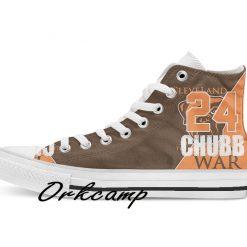 Clevelands Football Player Garrett High Top Canvas Shoes Custom Walking shoes 1