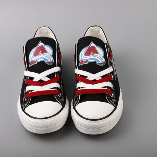 Colorado Avalanche Limited Low Top Canvas Sneakers