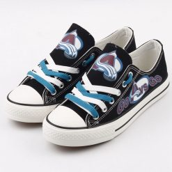 Colorado Avalanche Limited Low Top Canvas Shoes Sport